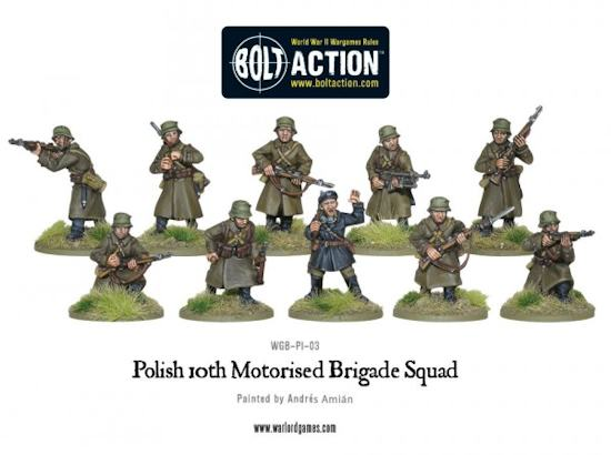 Polish 10th Motorized Division squad